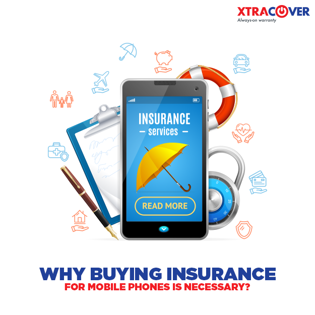 Insurance of mobile phones